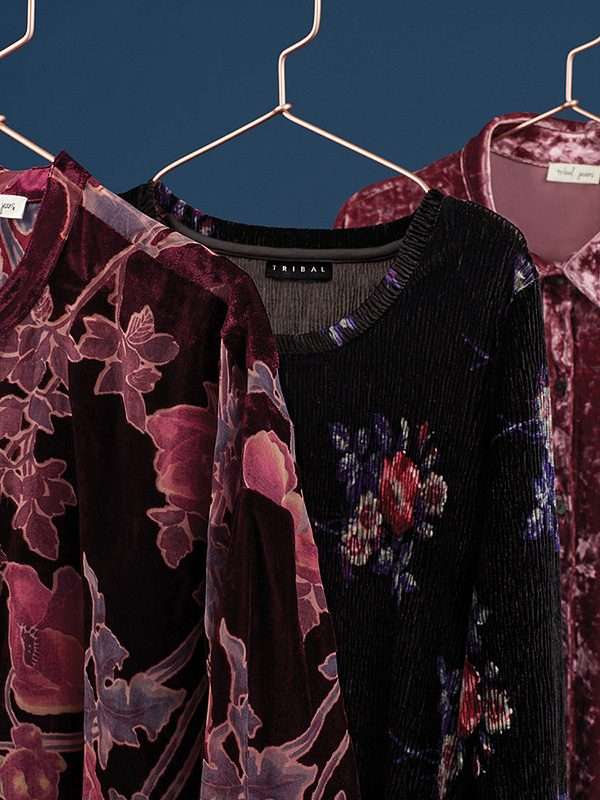 The trends we love with a touch of velvet